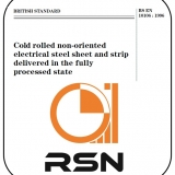 EN 10106-NON ORIENTED ELECTRICAL STEEL